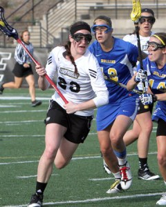 Maddi Ossello, a sophomore from Colorado, had 35 goals and seven assists last year. © Don Adams, Jr.