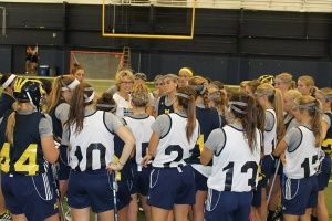Michigan is finally ready to hit the field after years of preparation. © University of Michigan Women's Lacrosse Facebook