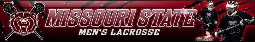 Missouri State Men's Lacrosse Banner