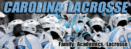 North Carolina Men's Lacrosse Banner