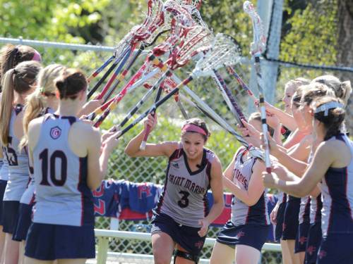 Saint Mary's Women's Lacrosse Picture