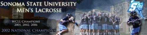 Sonoma State Men's Lacrosse banner