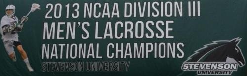 Stevenson Men's Lacrosse Banner
