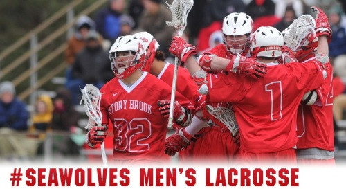 Stony Brook Men's Lacrosse Banner