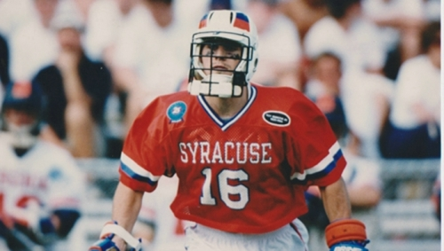 Former Syracuse Men's Lacrosse LSM All-American Rorke Denver played from 1993-96.