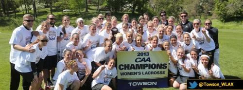 Towson Women's Lacrosse Header