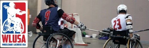 Wheelchair Lacrosse USA Banner