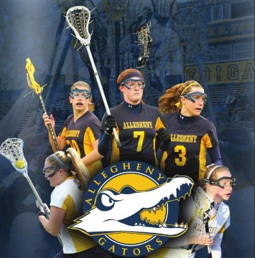 Allegheny Women's Lacrosse Banner