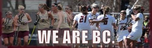 Boston College Women's Lacrosse Banner