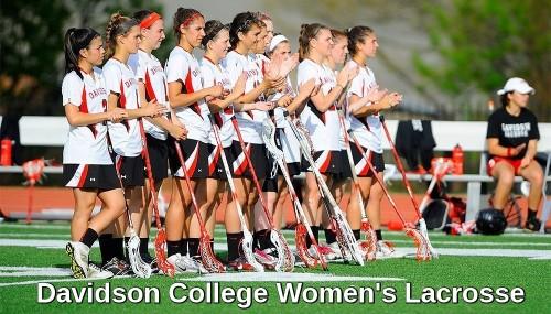 Davidson Women's Lacrosse Banner