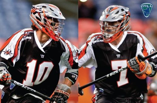 Denver Outlaws Matt and Chris Bocklet