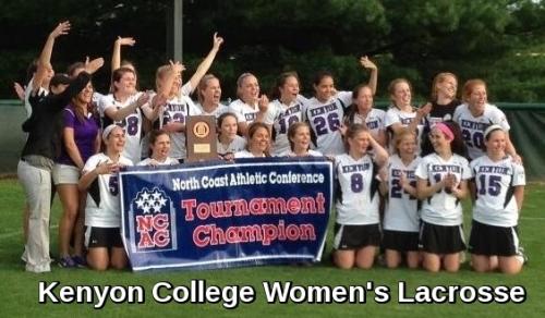 Kenyon College Women's Lacrosse Banner