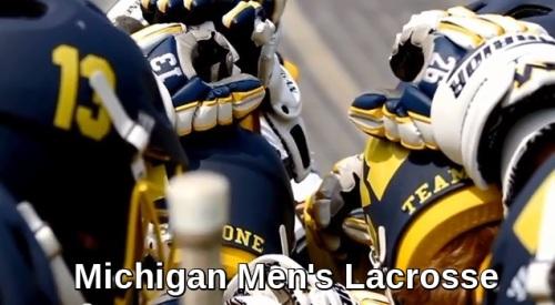 Michigan Men's Lacrosse Banner