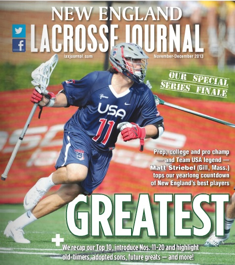 New England Lacrosse Journal Nov Dec 2013 Issue