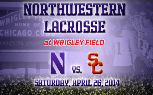Northwestern Women's Lacrosse hosts USC at Wrigley Field