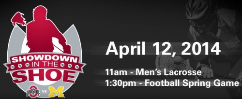 Ohio State Men's Lacrosse Showdown in the Shoe 2014