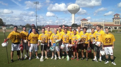Texas State Men's Lacrosse Picture
