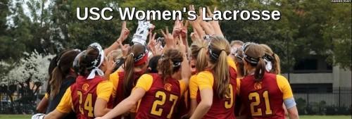 USC Women's Lacrosse Banner