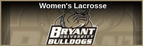 Bryant Women's Lacrosse Banner