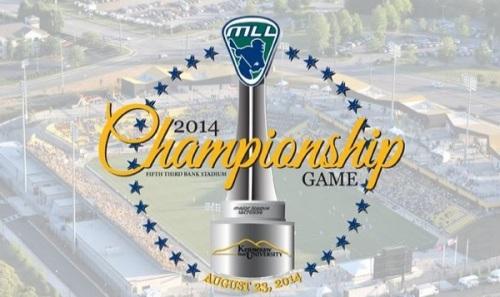 Major League Lacrosse 2014 Championship Atlanta