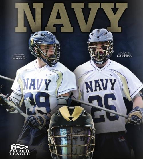 Navy Men's Lacrosse Banner
