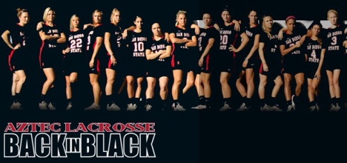 San Diego State Women's Lacrosse Banner