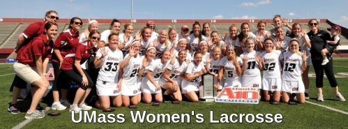 UMass Women's Lacrosse Banner