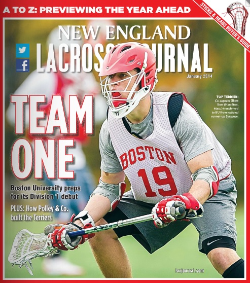 New England Lacrosse Journal January 2014 Issue