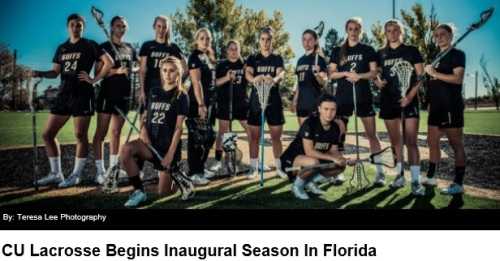 Colorado Women's Lacrosse 2014 Season