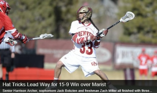 Denver Men's Lacrosse vs Marist