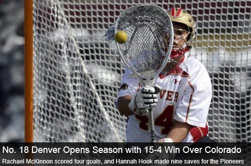 Denver Women's Lacrosse vs Colorado