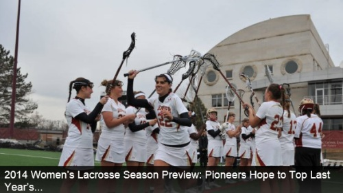Denver Women's Lacrosse 2014