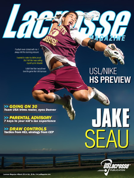 Lacrosse Magazine March 2014 Issue
