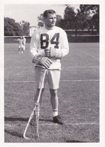 Rick Rickerson, co-founder of the Cal men's club lacrosse team.
