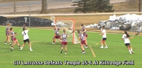 Colorado Women's Lacrosse vs Temple
