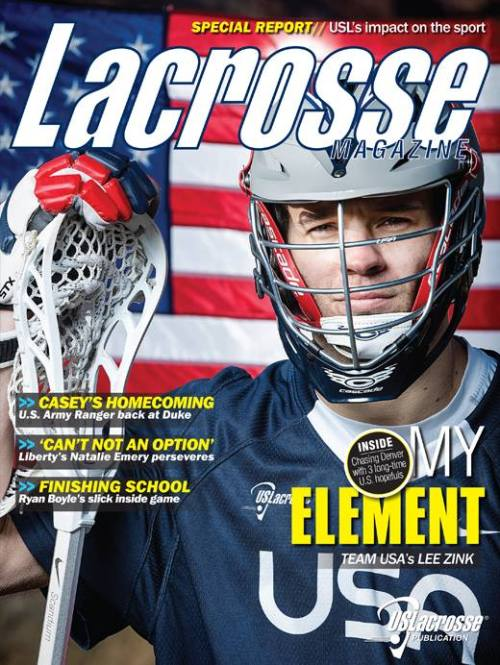 Lacrosse Magazine April 2014