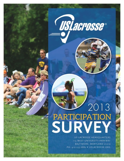2013 Participation Survey
