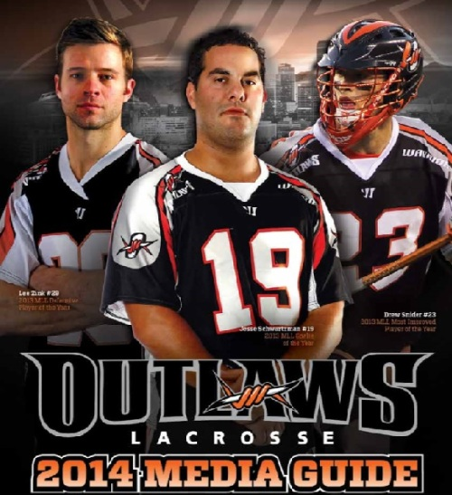 Denver Outlaws 2014 Media Guide
