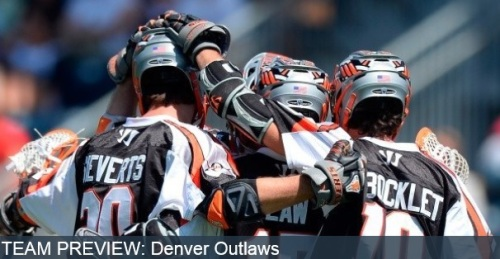 2013 Record: 14-0, lost to Charlotte Hounds in the first round of the playoffs Key Losses: Brendan Mundorf (A) Key Additions: John Grant, Jr. (A) 2013 in Review: The regular season was nothing short of impressive for the Denver Outlaws, who flaunted an untouchable record of 14-0 entering the post-season and had a league-record five team members named to the 2013 All-MLL Team. The Outlaws were so dominant that the closest they came to being beaten pre-playoffs was a two-point victory over the Chesapeake Bayhawks, who would go on to win the Steinfeld Trophy against the Charlotte Hounds, 14-12. Despite their unstoppable momentum entering the playoffs, however, the Outlaws were eliminated in the first round by the Hounds, even with a record-breaking nine-goal performance from rookie Eric Law. 2014 Preview: Having now been ousted from the first round of the playoffs for the third time in four years, the Outlaws will look to outlast the post-season this year, with hopes of contending for the Steinfeld Trophy. Last season, the thoroughness of the entire Outlaws roster was made evident when a record five players were named to the All-MLL team at the season's close. Attack was held up by Chris Bocklet and Brendan Mundorf, the midfield was led by Jeremy Sievert, and the backend was upheld by defenseman Lee Zink and goaltender Jesse Schwartzman who were named Warrior Defender and Goaltender of the Year respectively. Denver will be a force to be reckoned with as they see four out of those five players return this season. Their ability to perform at every position was backed by numbers, too. Last year, the Outlaws led the league in goals scored, goals-against, power play goals and penalty kill percentage. Their 226 goals scored is only a single back-netter short of tying the all-time league record, and their low 136 goals-against is tied for the fifth-fewest of all time. With all-star rookie Eric Law now having a season under his belt, their offense can only grow with 50+ point producer Chris Bocklet, and his artillery of attackmen including Drew Snider, who accumulated 46 points, and Jeremy Sieverts, who collected 44. Although the Outlaws' offense will undoubtedly miss Brendan Mundorf, who was among those top tier scorers with 41 of his own points, they hope to complement the returning cannons with 2012 Cascade Rookie of the Year Matt Gibson. In 2012, Gibson scored 18 goals and 15 assists in 12 games, and in 2013, although he played in half as many matchups, he was still able to accrue 1.5 points per game, offensively contributing every time he was on the field. Not only will they come out of the gate firing, but the Outlaws should also harbor an impenetrable defense with Lee Zink, and record-breaking Jesse Schwartzman in net, who set the new League record for goals-against average at 9.27, breaking his own record in the process. 2014 Prediction: The Outlaws always fare well in the regular season; however, the problem with making it to the post-season every year is having to contend in the playoffs every year, something Denver hasn't been able to see through to the end since the team's inception.
