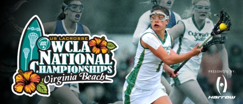 The 14th annual US Lacrosse Women's Collegiate Lacrosse Associates (WCLA) National Championships, presented by Harrow Sports, has a new home.  For the first time in its history, the event moves to the East Coast for the start of a two-year commitment at the Princess Anne Athletic Complex & Stadium in Virginia Beach.