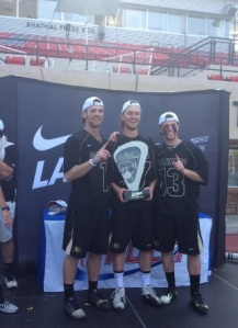 Colorado Men's Lacrosse 2014 MCLA Champions
