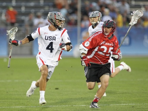 Eight straight goals helped the United States open the 2014 FIL World Championship, presented by Trusted Choice, with a big win over Canada, its championship game opponent in each tournament since 1998. Flipping a 3-0 deficit early in the second quarter to an 8-3 lead deep in the third, the run powered an eventual 10-7 victory for the defending world champion.