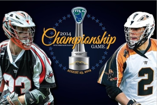 The Outlaws and the Rattlers will face each other in the final competition of the season to see who will take home the Steinfeld Trophy at the 2014 MLL Championship. Last Time Out: In a back and forth game, the Outlaws managed to edge the New York Lizards out of the playoffs with a 14-13 win in the semifinals in Denver last weekend. The Ohio Machine was also ousted as the Rattlers made an incredible comeback to defeat the Machine 15-11 in Rochester. Three Storylines: Flash Back: Since both the Outlaws and the Rattlers have been around, the teams have met a total of ten times between the regular season and playoffs.  If you're looking to their competitive history for a peak into the future, their record will only add to the anticipation. The teams are 5-5 in all competitions when it comes to victories playing each other. While the teams have an even overall record, fans who remember the championship game of 2008 know that Denver has some redeeming to do.  The last time the two teams saw each other in the final battle of the season, the Rattlers defeated Denver in a 16-6 blowout.  Will Denver fail again, or will the tables turn on Rochester? Break The Curse: It is no surprise that the Outlaws have found themselves in the playoffs this year. They have made it to the post season each of the nine years the team has been in the league. Despite four semi-final and four final game appearances, the Outlaws have never won a championship. Maybe this will be their year. The Magic Touch: Denver's coach B.J. O'Hara has a chance to become the only MLL head coach to win championships with two separate teams. O'Hara won his first season title coaching the Rattlers when they defeated the Outlaws in 2008. If Denver can capture the Steinfeld Trophy this weekend, perhaps it is O'Hara who has the magic touch.