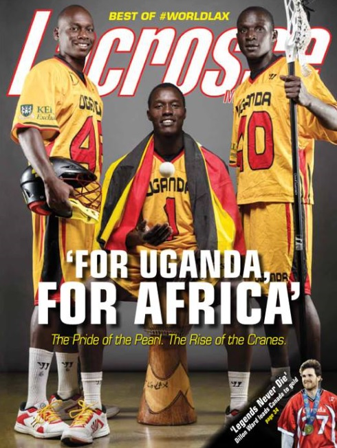 Lacrosse Magazine Sept 2014 Issue
